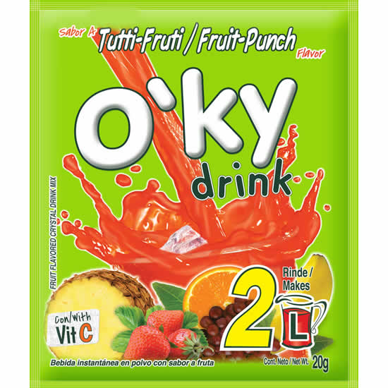 Oky Drink Fruit Punch