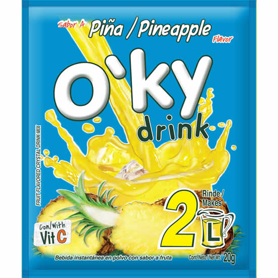 Oky Drink Pineapple