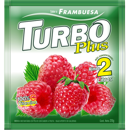 Turbo Plus Frambueza Novafoods
