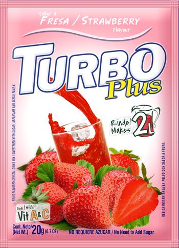 Turbo Plus 20g Fresa