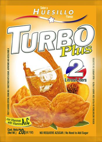 Turbo Plus 20g Huesillo