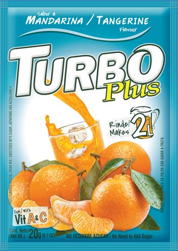 Turbo Plus 20g Mandarina