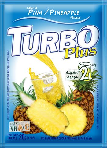Turbo Plus 20g Piña