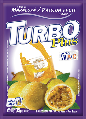 Turbo Plus Maracuyá