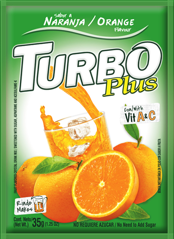 Turbo Plus Naranja