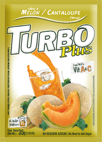 Turbo Plus Melón