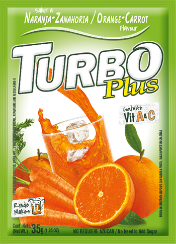 Turbo Plus Naranja Zanahoria