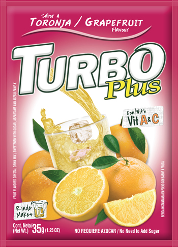 Turbo Plus Toronja