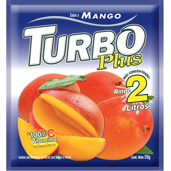 Turbo Plus Mango Novafoods