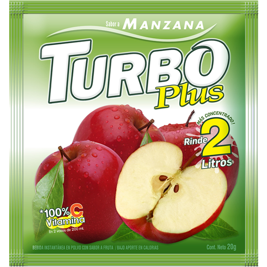 Turbo Plus Manzana Novafoods