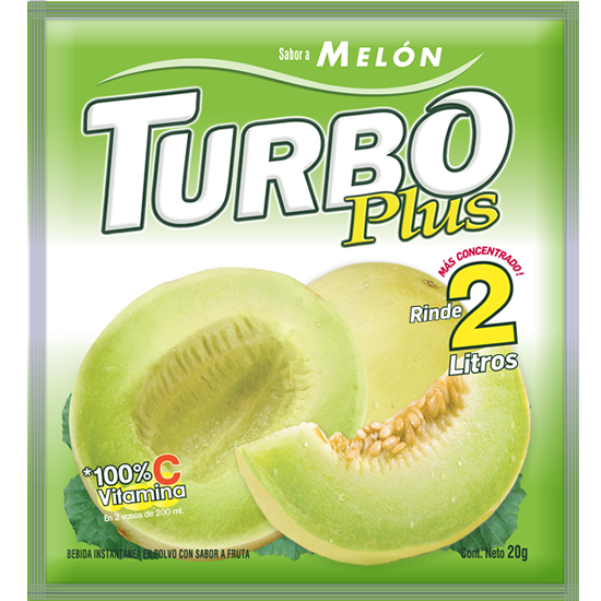 Turbo Plus Melón Novafoods