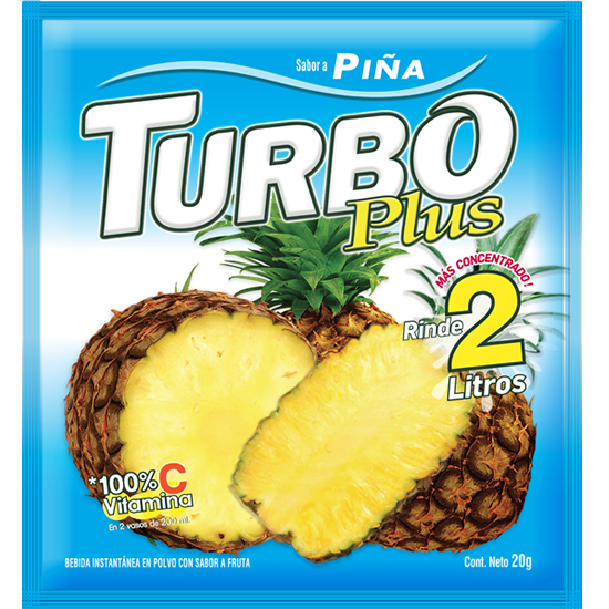 Turbo Plus Piña Novafoods