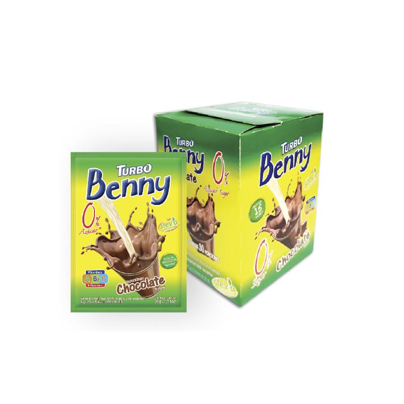 Turbo Benny Sachet 20g - 0% Azúcar
