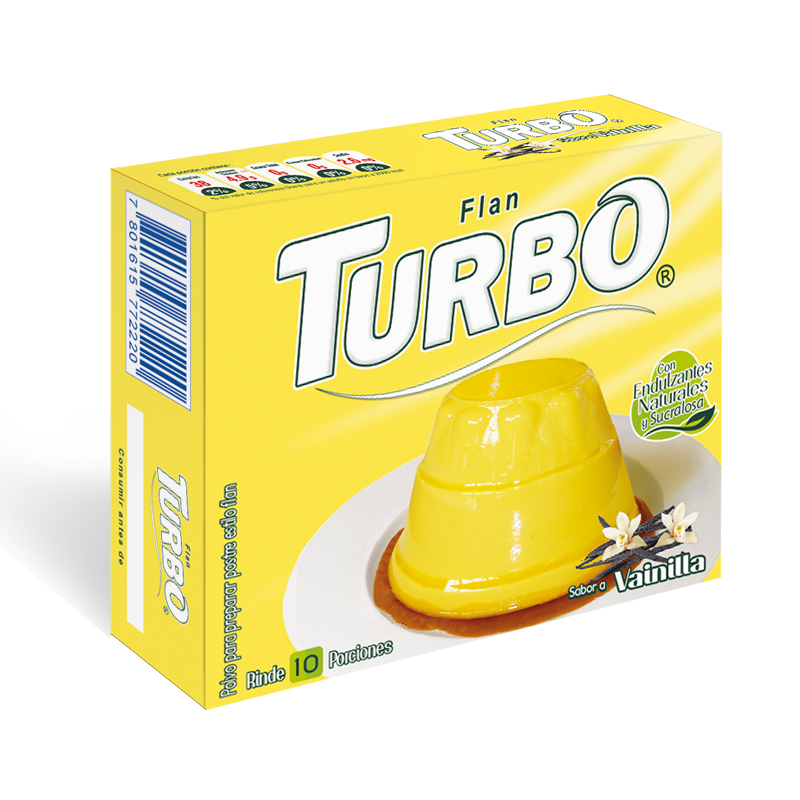 Flan Turbo 100g