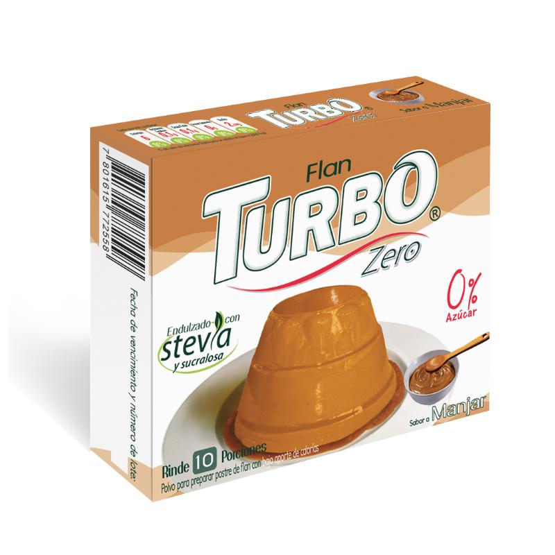 Flan Turbo Zero 20g – Con Stevia