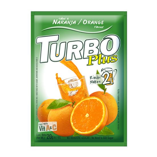 Turbo Plus 20g + Vitamina A y C