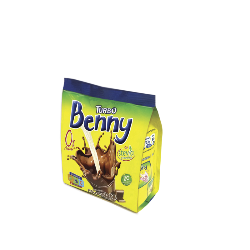 Turbo Benny Bolsa 200g - 0% Azúcar
