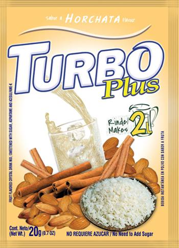 turbo plus horchata