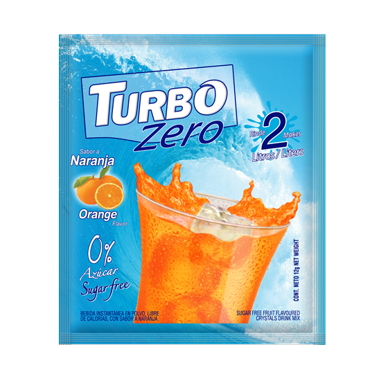 Turbo Zero 12g - Sugar Free