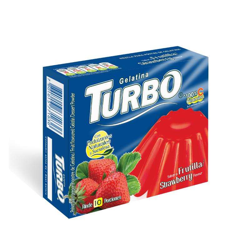 Gelatina Turbo 40g