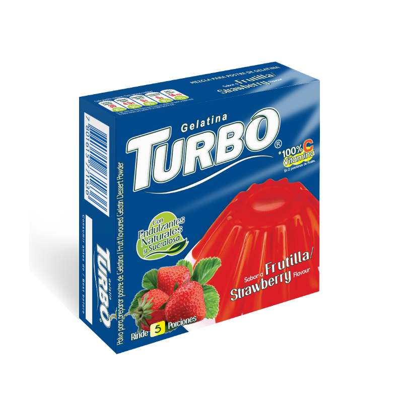 Gelatin Turbo 40g